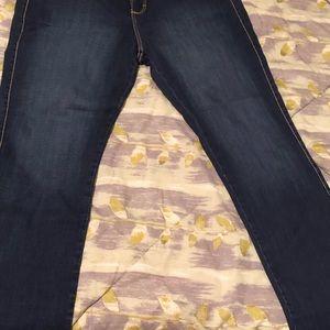 Aura Jeans - Women Aura blue jean